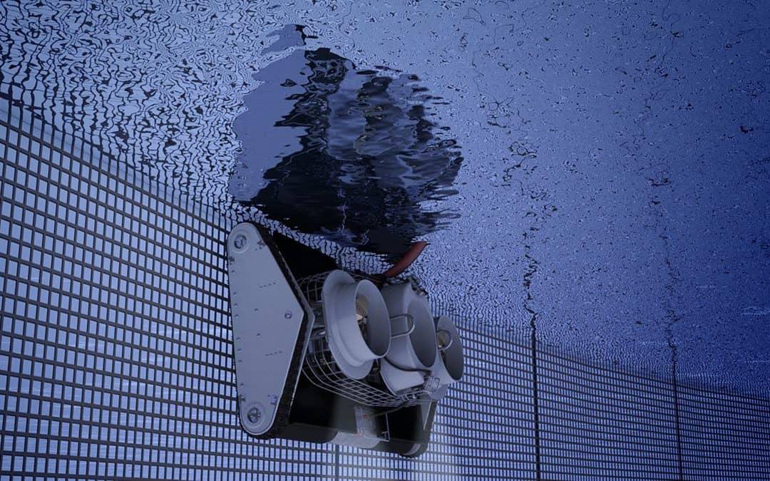 notvasker under vann