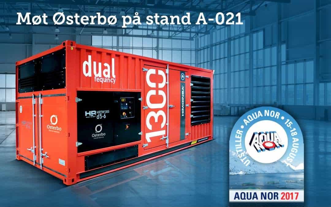 Aqua Nor: Østerbø stiller med notvaskar og strømaggregat