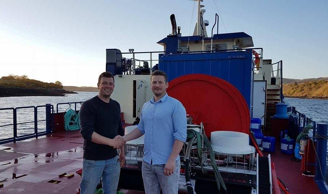 Leco Marine investerer i ny Østerbø Yanmar notvaskar