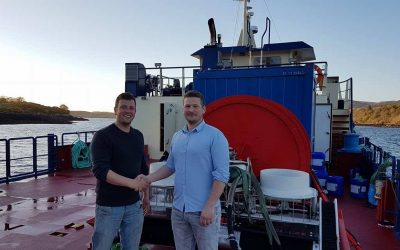 Leco Marine in Scotland invests in a new Osterbo Yanmar net cleaner