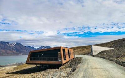 Litande reservekraft til Svalbard Globale frøhvelv