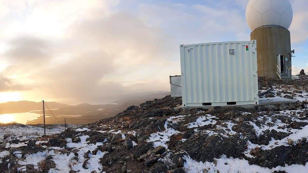 foto frå fjelltopp