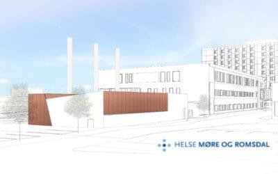 Østerbø leverer nødstrømsaggregat til Ålesund sjukehus