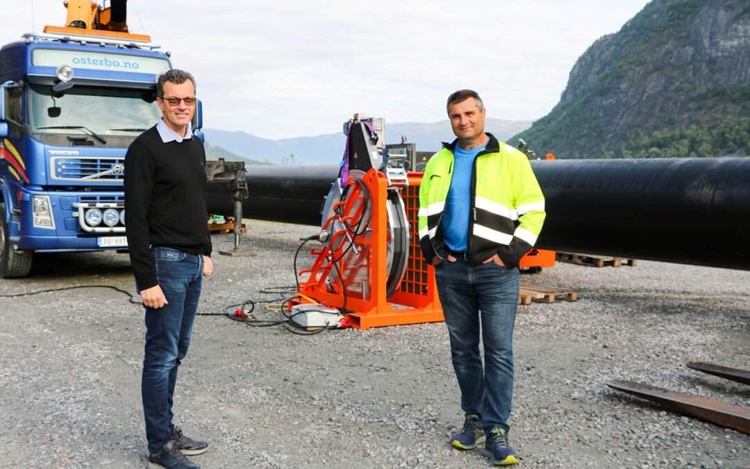 Østerbø Maskin og Ecomerden inngår rammeavtale